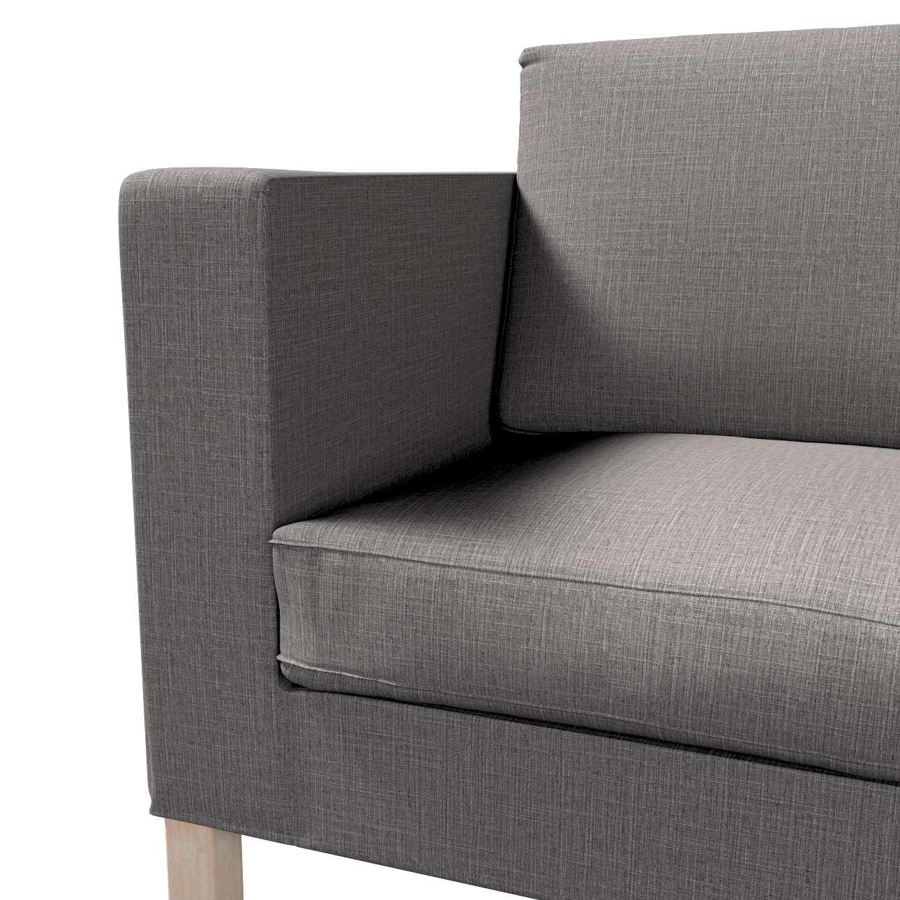 Pokrowiec na sofę Karlanda rozkładaną, krótki w kolekcji Living, tkanina: 161-16