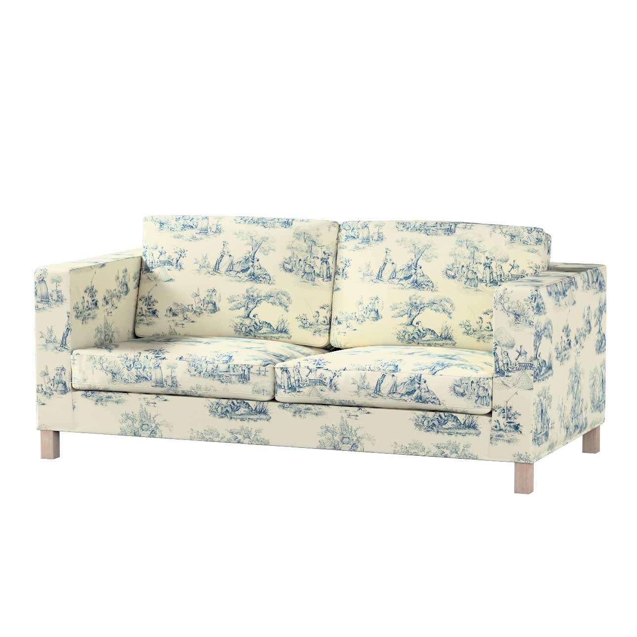 Potah na pohovku IKEA  Karlanda rozkládací, krátký pohovka Karlanda rozkládací v kolekci Avignon, látka: 132-66
