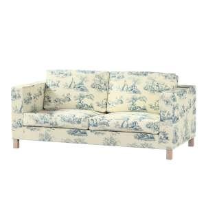 Pokrowiec na sofę Karlanda rozkładaną, krótki Sofa Karlanda rozkładana w kolekcji Avinon, tkanina: 132-66