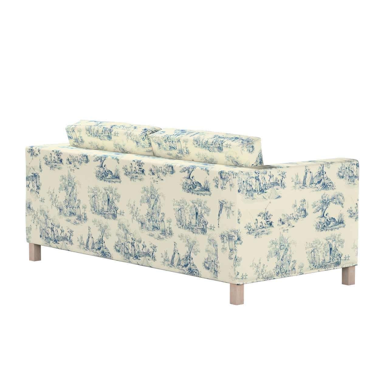 Pokrowiec na sofę Karlanda rozkładaną, krótki w kolekcji Avinon, tkanina: 132-66