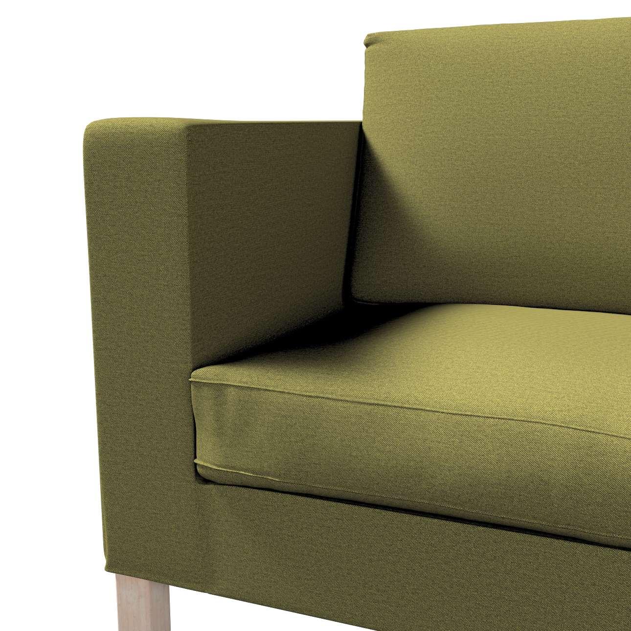 Pokrowiec na sofę Karlanda rozkładaną, krótki w kolekcji Etna, tkanina: 161-26