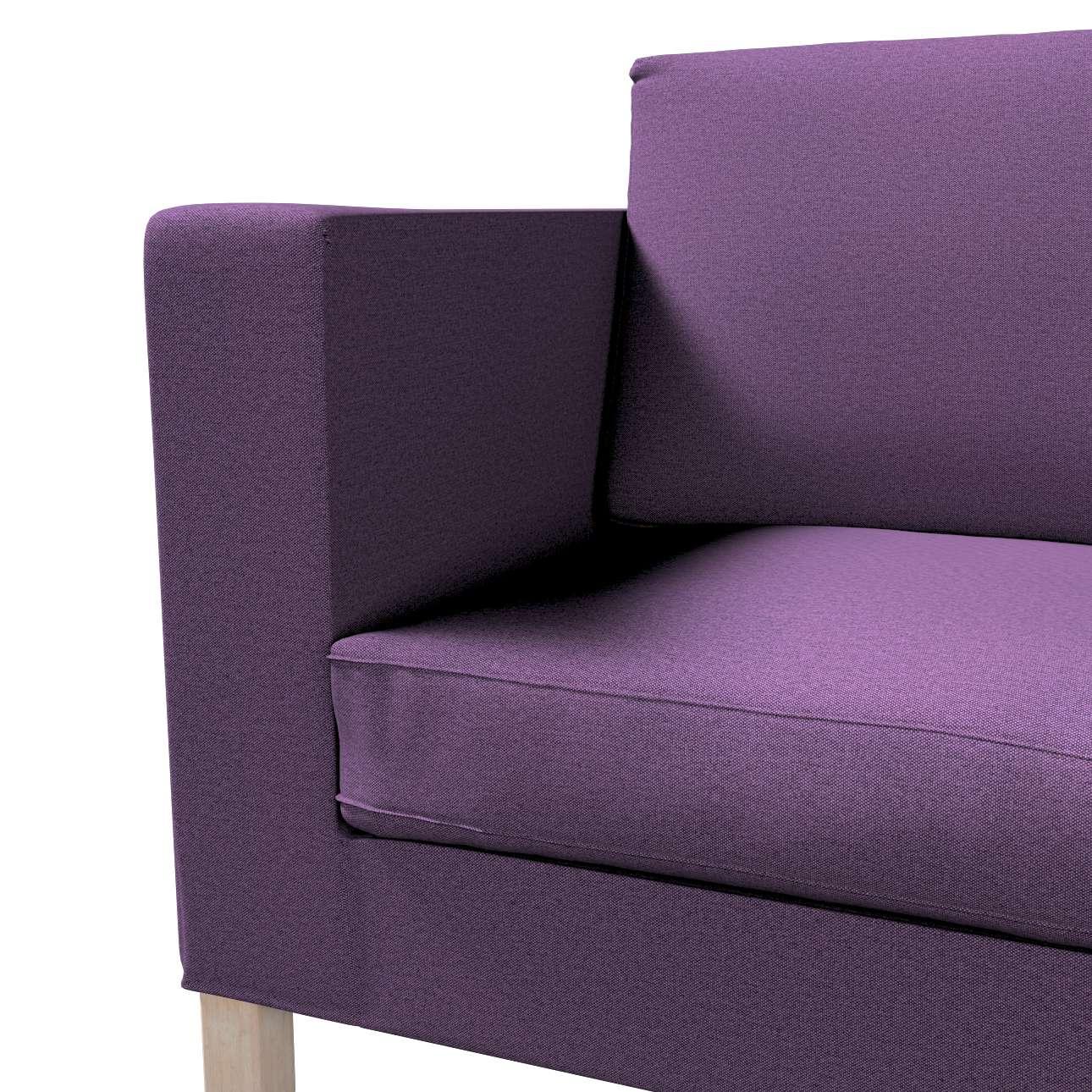 Pokrowiec na sofę Karlanda rozkładaną, krótki w kolekcji Etna, tkanina: 161-27