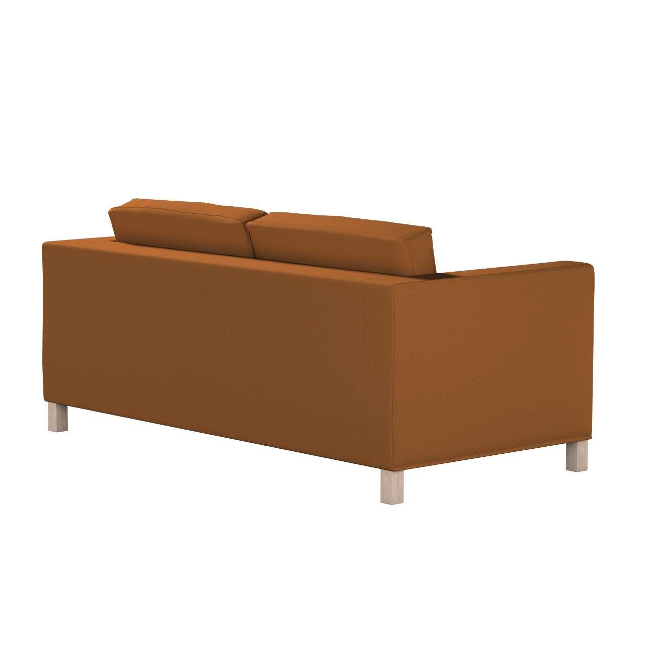 Pokrowiec na sofę Karlanda rozkładaną, krótki w kolekcji Living, tkanina: 161-28