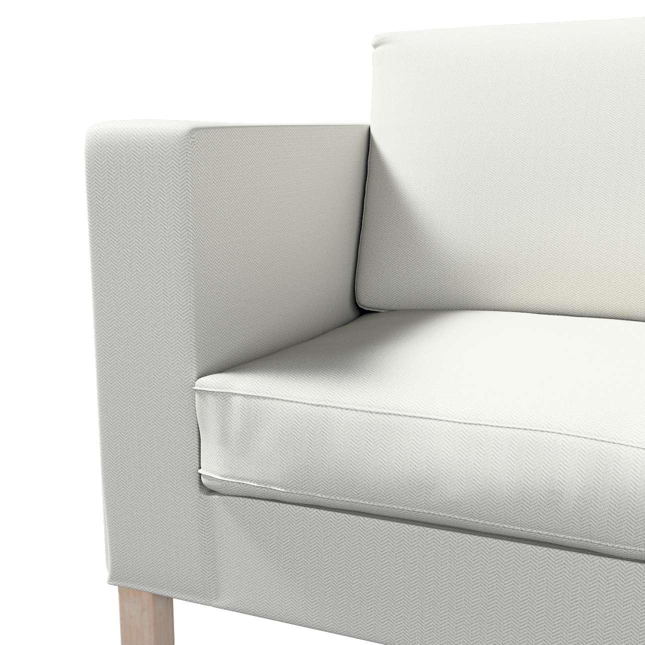 Pokrowiec na sofę Karlanda rozkładaną, krótki w kolekcji Bergen, tkanina: 161-84