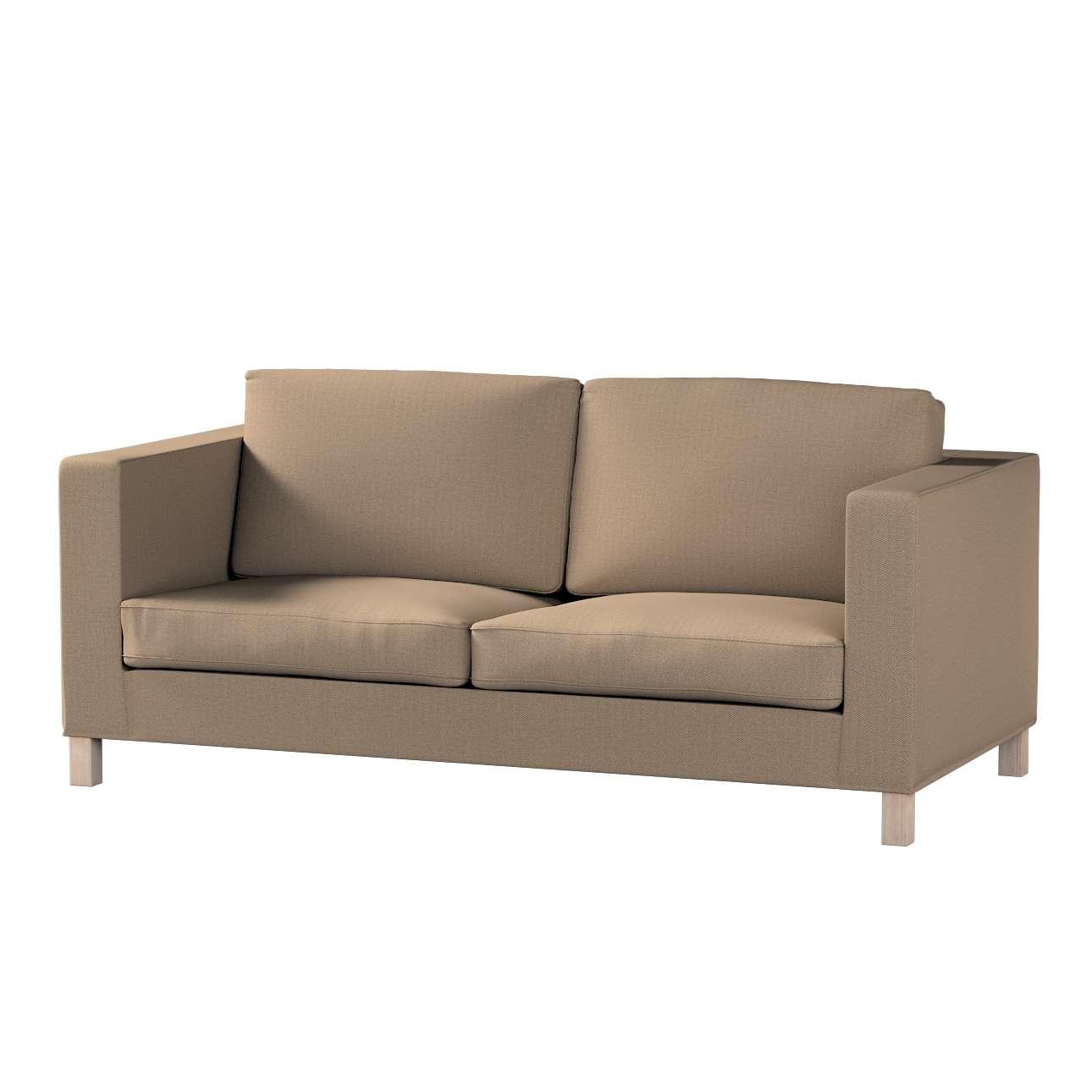 Pokrowiec na sofę Karlanda rozkładaną, krótki w kolekcji Bergen, tkanina: 161-85