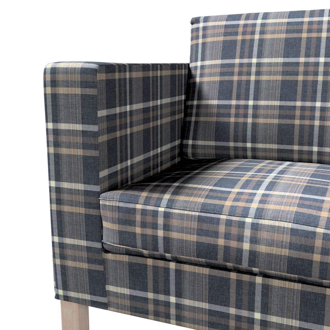 Pokrowiec na sofę Karlanda rozkładaną, krótki w kolekcji Edinburgh, tkanina: 703-16