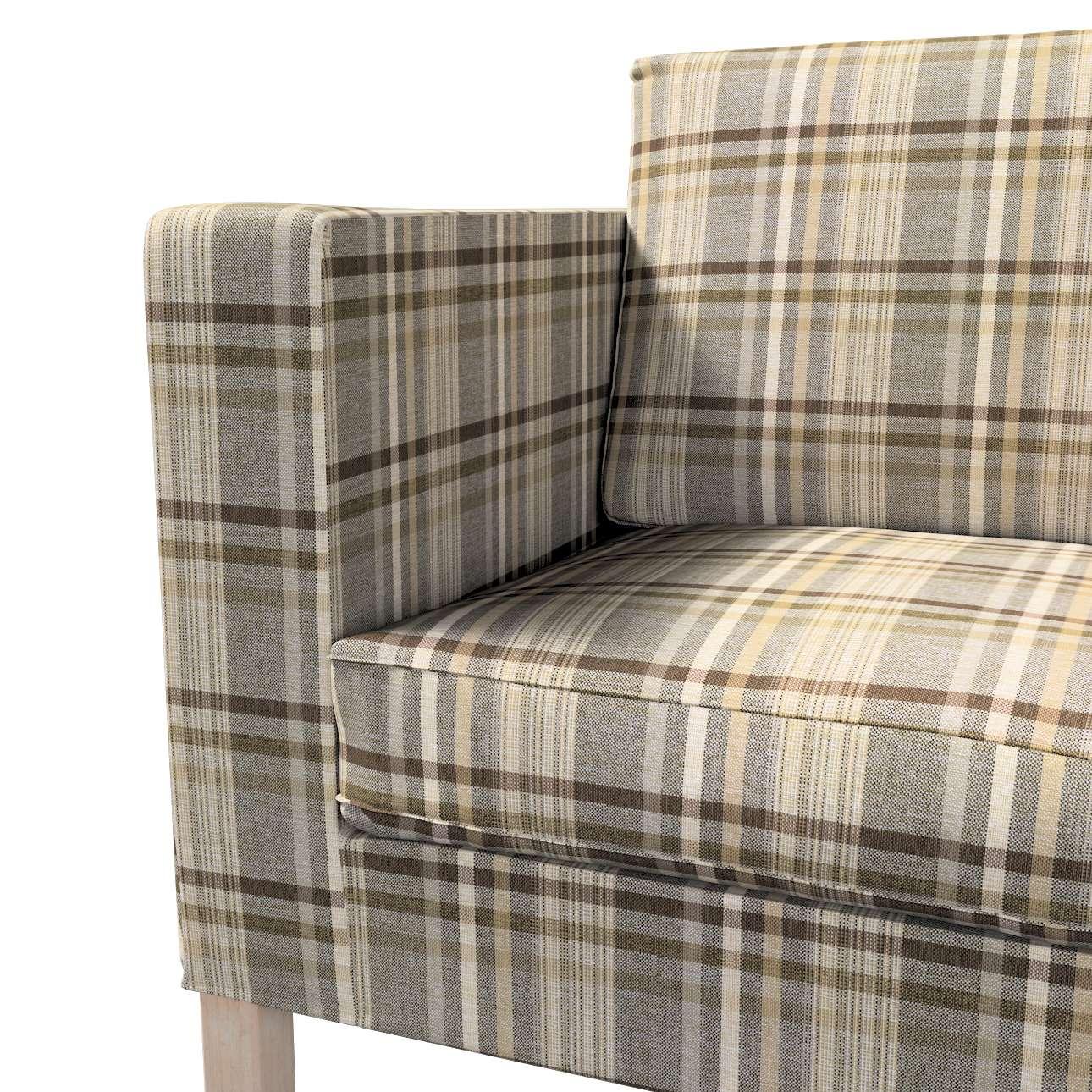 Karlanda nyitható kanapé huzat rövid a kollekcióból Edinburgh Bútorszövet, Dekoranyag: 703-17