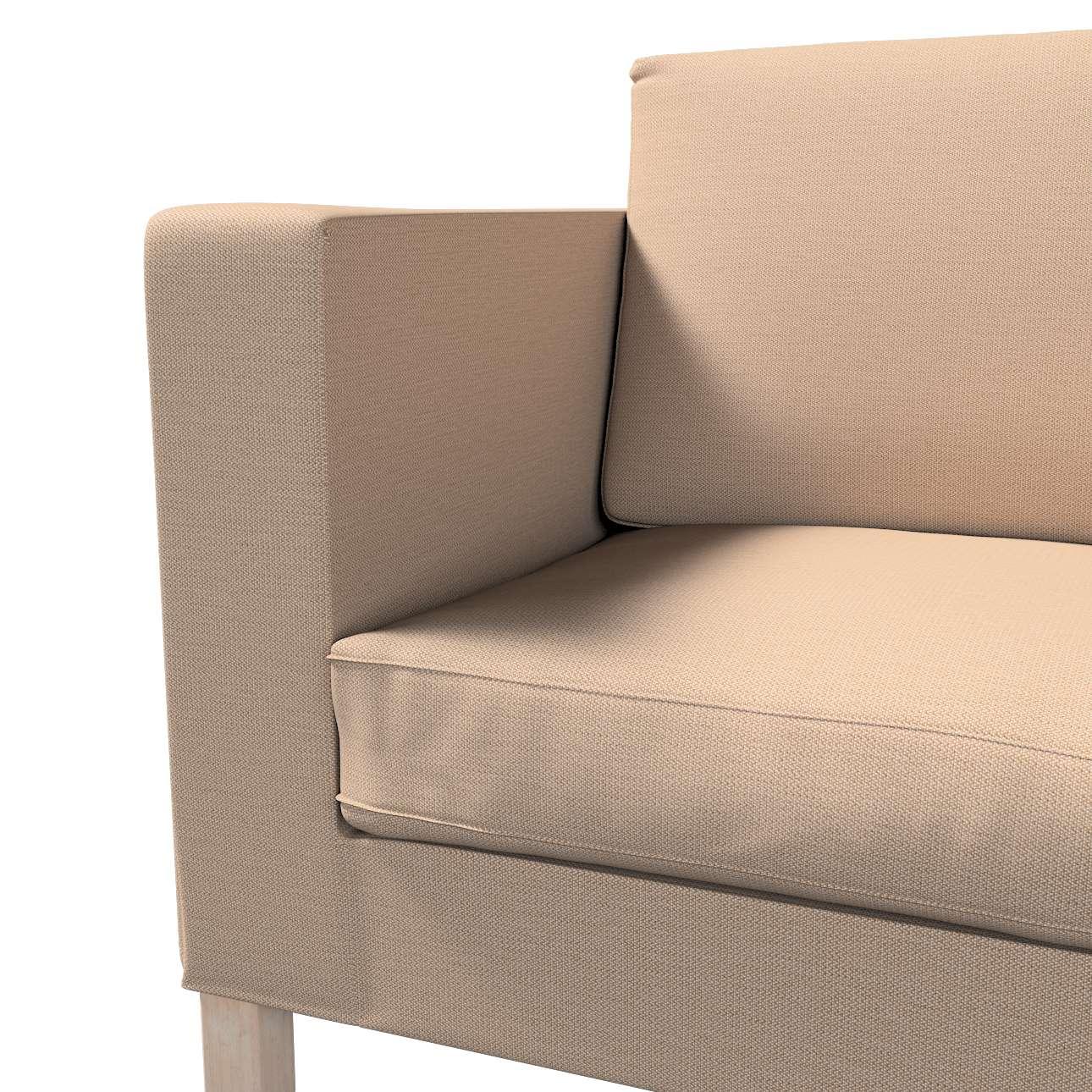 Pokrowiec na sofę Karlanda rozkładaną, krótki w kolekcji Bergen, tkanina: 161-75