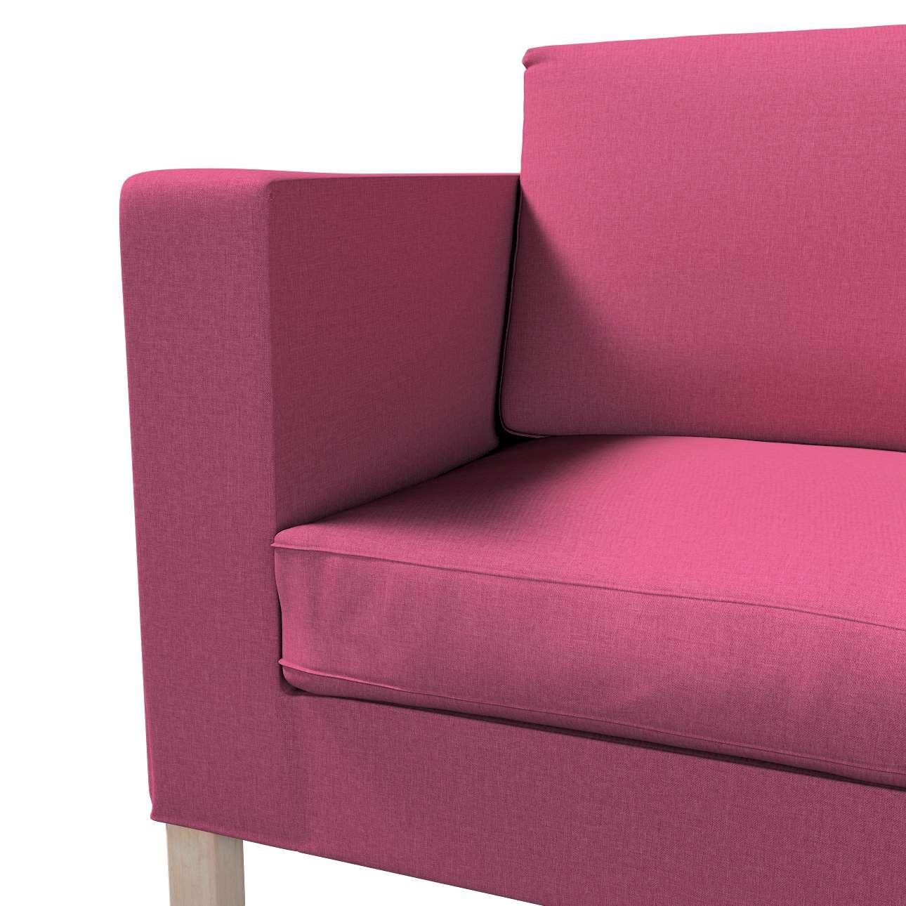 Pokrowiec na sofę Karlanda rozkładaną, krótki w kolekcji Living, tkanina: 160-44