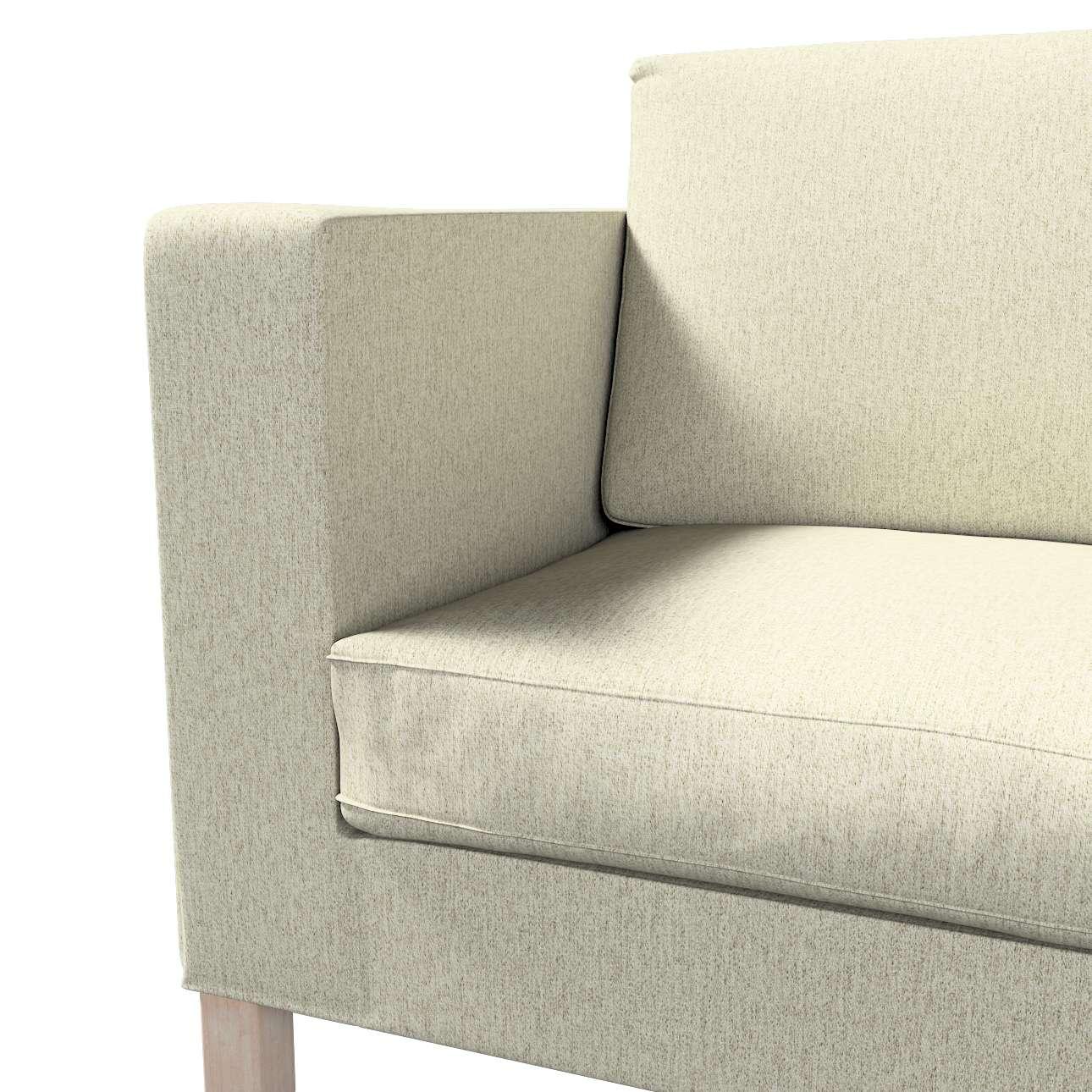 Pokrowiec na sofę Karlanda rozkładaną, krótki w kolekcji Living, tkanina: 161-62