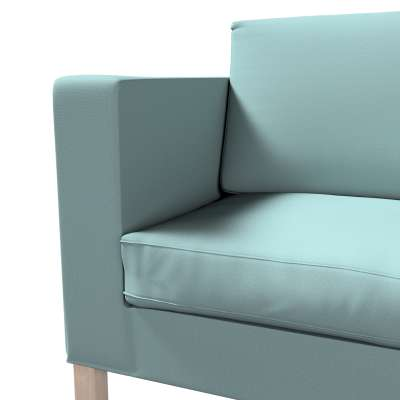 Pokrowiec na sofę Karlanda rozkładaną, krótki w kolekcji Cotton Panama, tkanina: 702-40