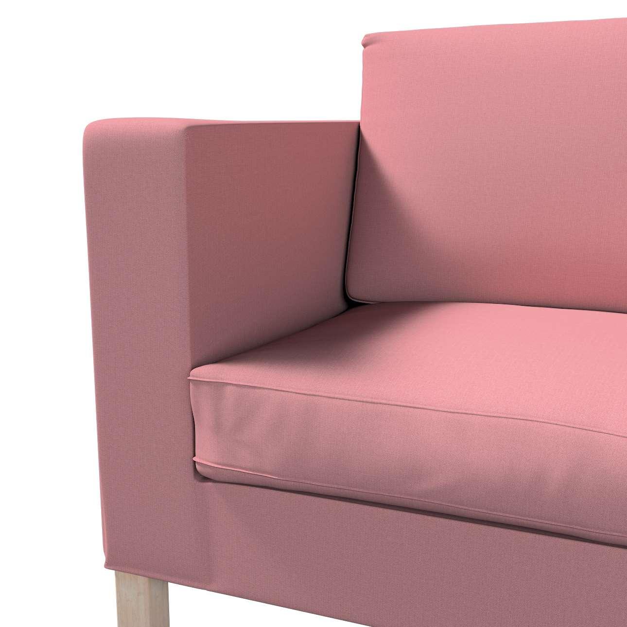 Pokrowiec na sofę Karlanda rozkładaną, krótki w kolekcji Cotton Panama, tkanina: 702-43