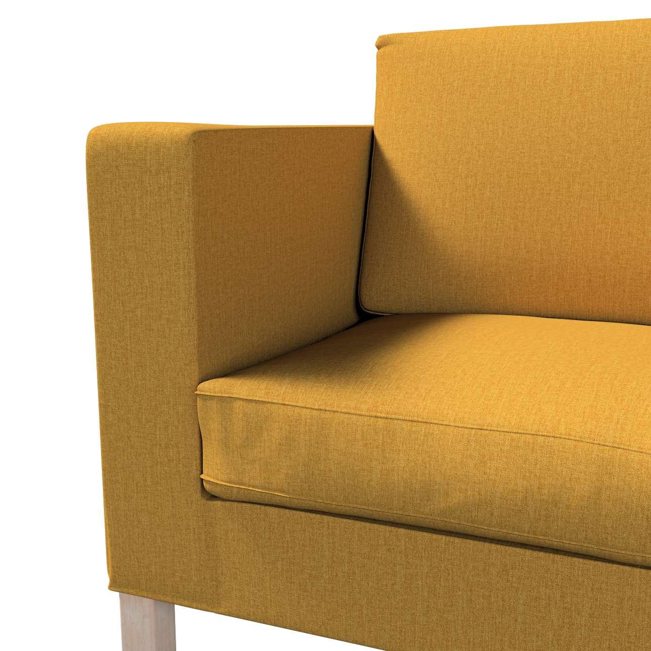 Pokrowiec na sofę Karlanda rozkładaną, krótki w kolekcji City, tkanina: 704-82