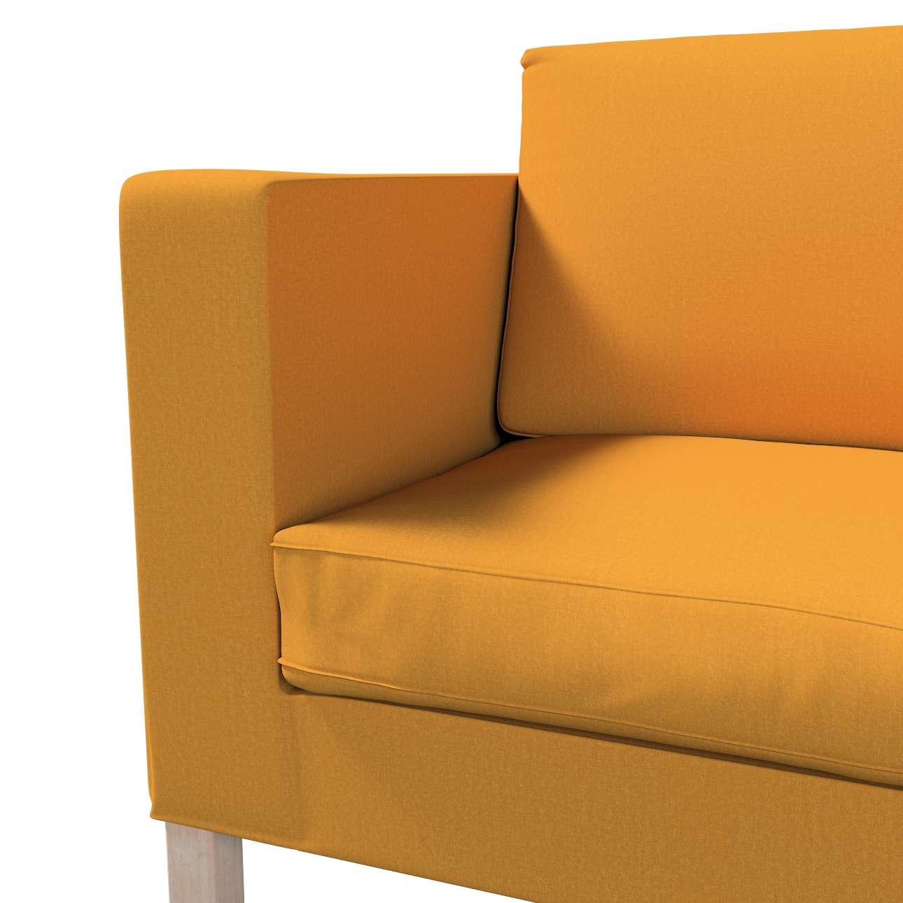 Pokrowiec na sofę Karlanda rozkładaną, krótki w kolekcji Living, tkanina: 161-64