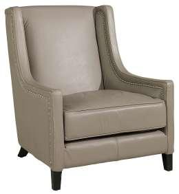 Fotel skórzany Manchester jasny