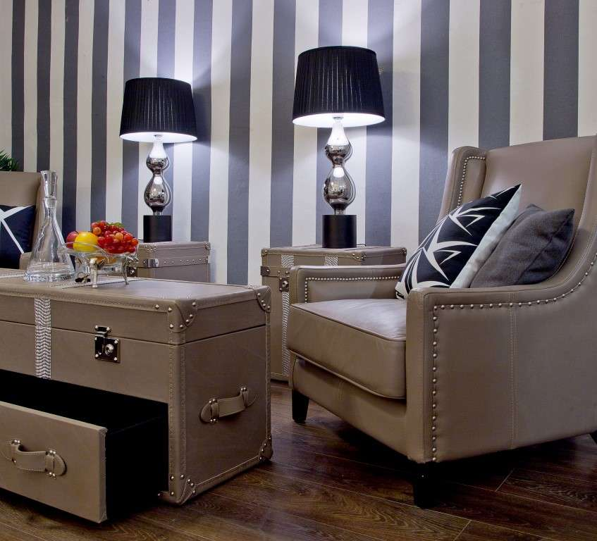 sessel aus leder hell dekoria. Black Bedroom Furniture Sets. Home Design Ideas