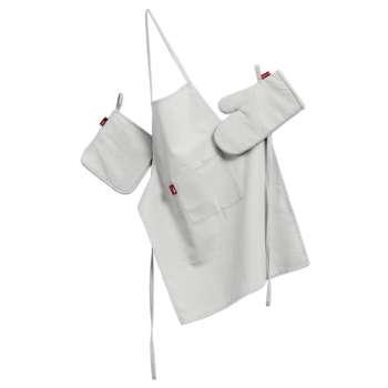 Komplet kuchenny fartuch,rękawica i łapacz kpl w kolekcji Loneta, tkanina: 133-02