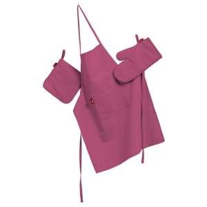 Komplet kuchenny łapacz, rękawica oraz fartuch kpl w kolekcji Loneta, tkanina: 133-60