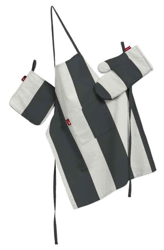 Komplet kuchenny łapacz, rękawica oraz fartuch kpl w kolekcji Comics, tkanina: 137-53