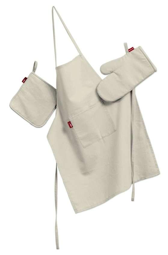 Komplet kuchenny fartuch,rękawica i łapacz kpl w kolekcji Comics, tkanina: 139-00