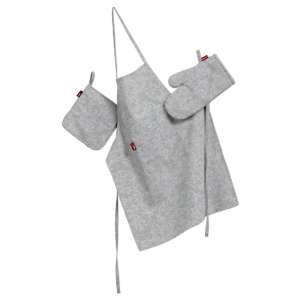Komplet kuchenny fartuch,rękawica i łapacz kpl w kolekcji Venice, tkanina: 140-49