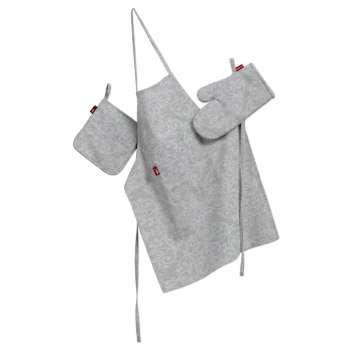 Tekstilės rinkinys virtuvei: prijuostė, puodų laikiklis ir orkaitės pirštinės Rinkinys kolekcijoje Venice, audinys: 140-49