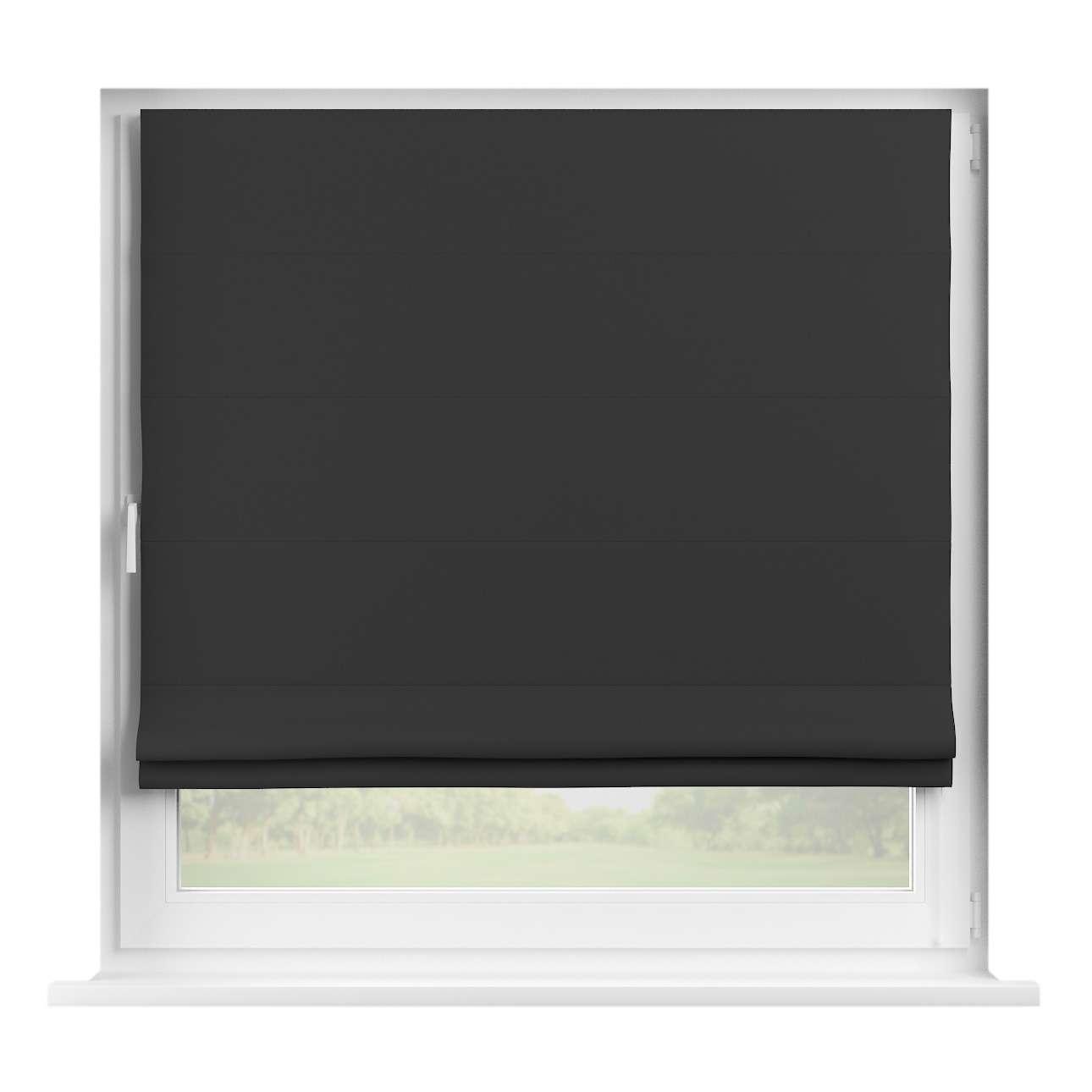 Foldegardiner mørklægning, Sort, 130 x 170 cm - Dekoria