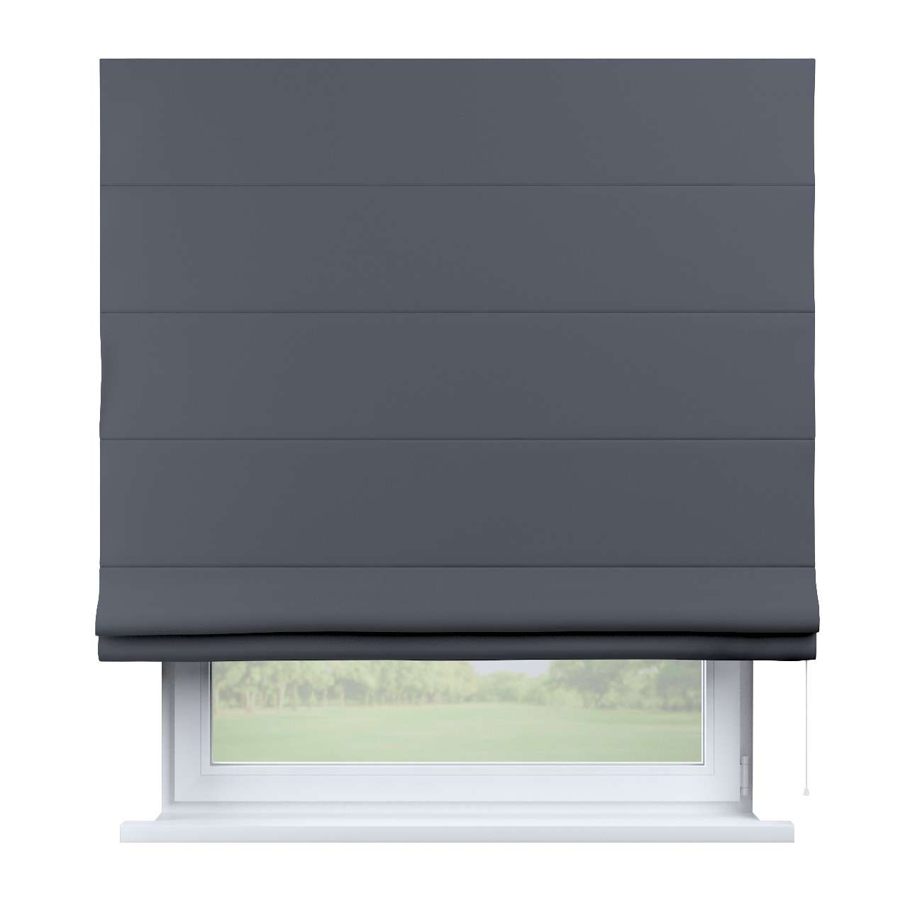 roleta rzymska zaciemniaj ca ciemno szary x d. Black Bedroom Furniture Sets. Home Design Ideas