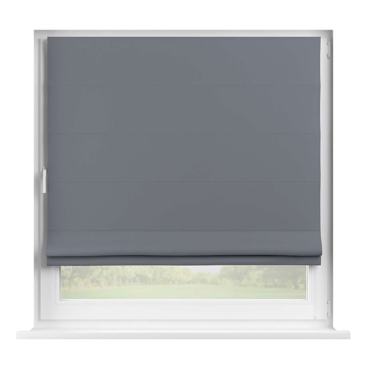 Blackout roman blind 80 x 170 cm (31,5 x 67 inch) in collection Blackout, fabric: 269-76