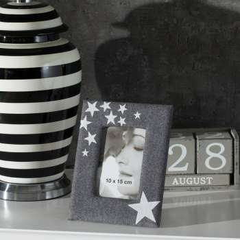 Fotorahmen Star Dark Grey 18,5x23,5cm