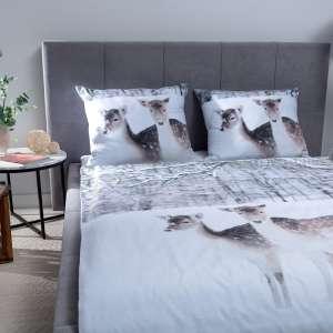 Bettwäsche im Set Winter Deer Bettbezug 160x200cm, 2 Kissenhüllen 70x80cm