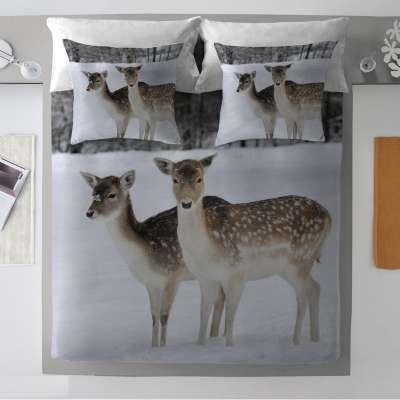 Bettwäsche im Set Winter Deer Kinderbettwäsche - Dekoria.de