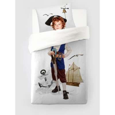 Komplet pościeli Little Pirate 160 × 200 cm