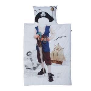 Komplet pościeli Little Pirate poszwa 160x200cm, poszewka 70x80cm