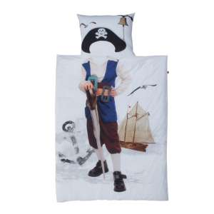 Patalynė Little Pirate 160x200cm, 1 vnt. 70x80cm