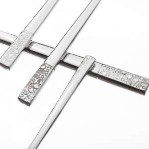 Besteck Fiori Platinum für 6 Personen komplet