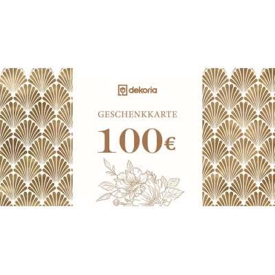 Geschenkgutschein 100€ Geschenkgutscheine - Dekoria.de