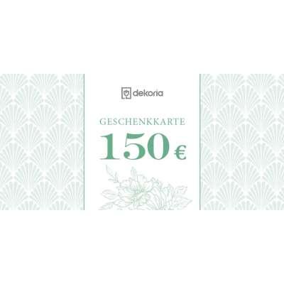 Geschenkgutschein 150€ Geschenkgutscheine - Dekoria.de