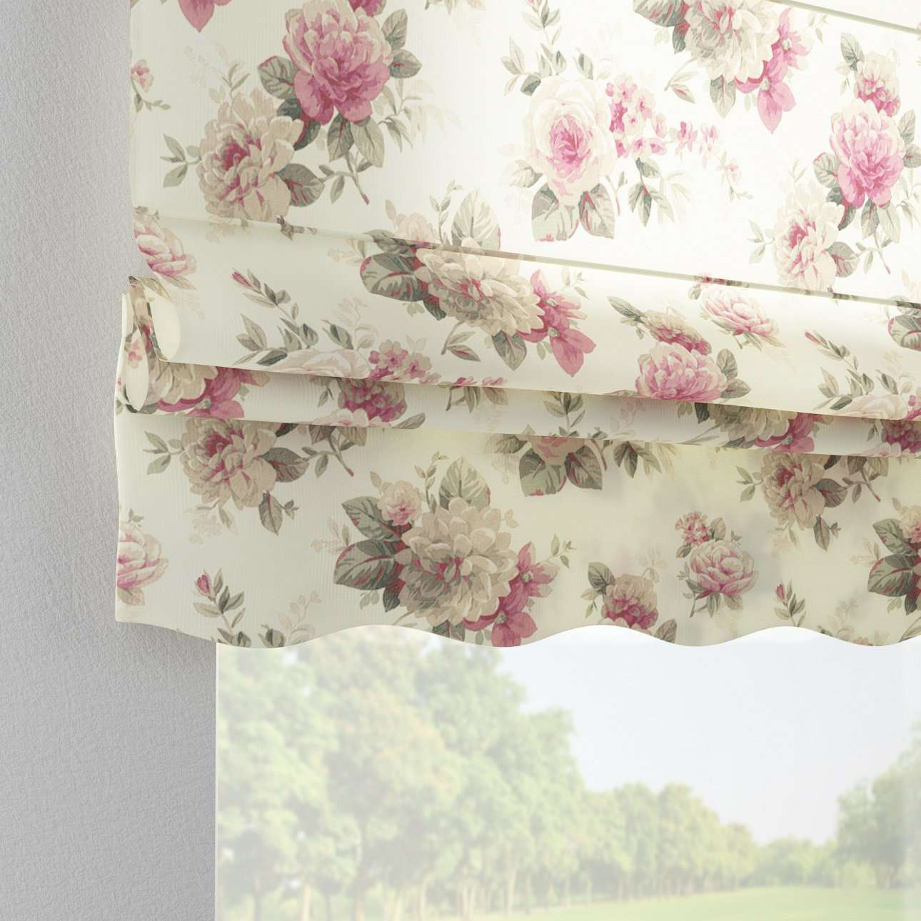 Florence roman blind  in collection Mirella, fabric: 141-07