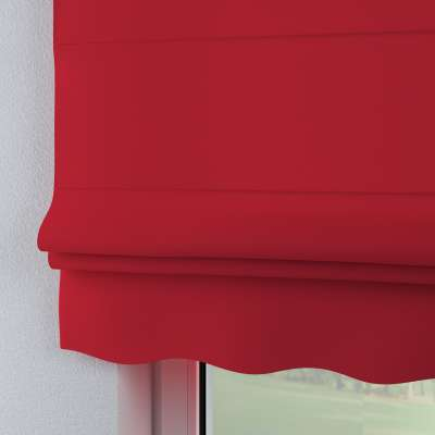 Florence roman blind 702-04 red Collection Panama Cotton