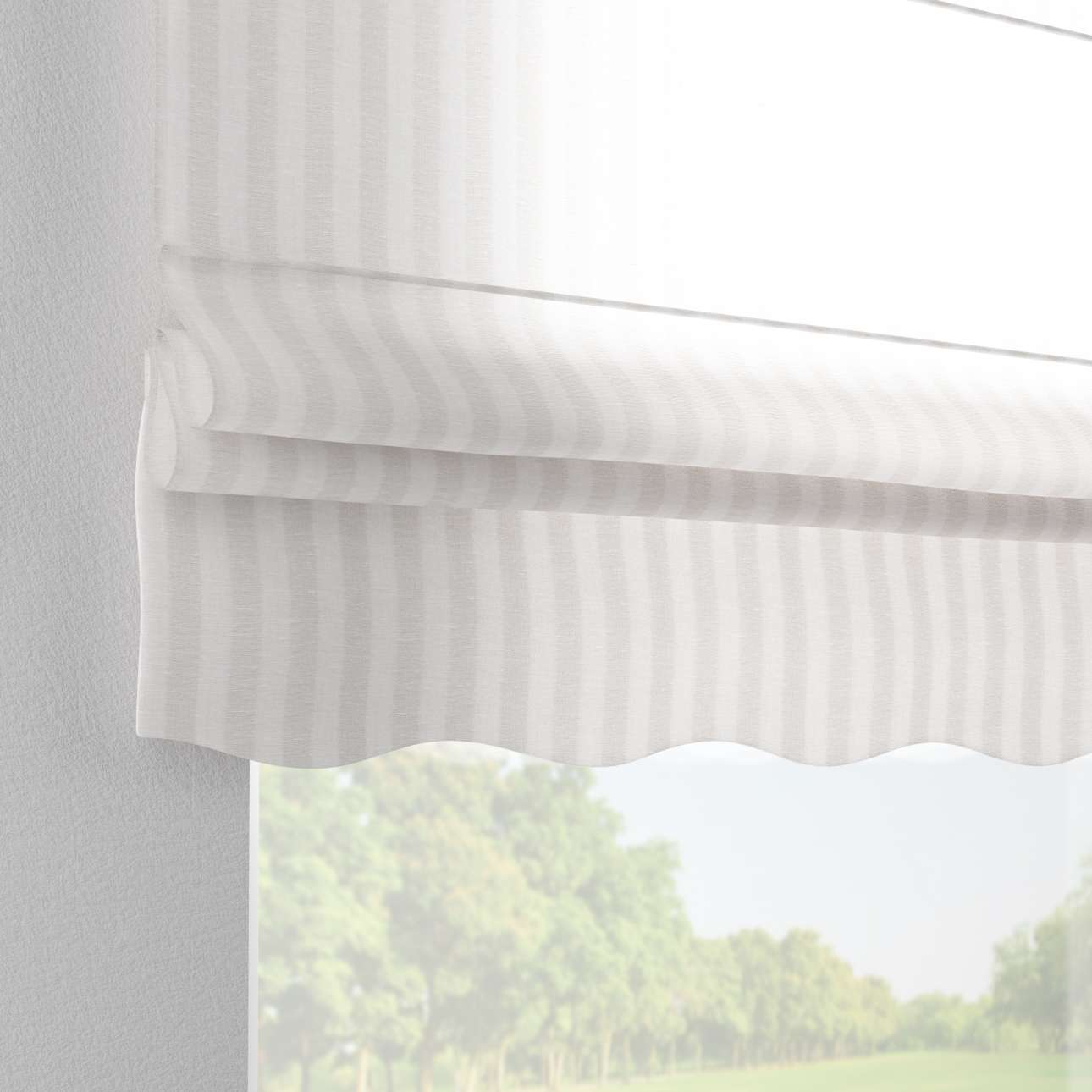 Florence roman blind  80 x 170 cm (31.5 x 67 inch) in collection Linen, fabric: 392-03