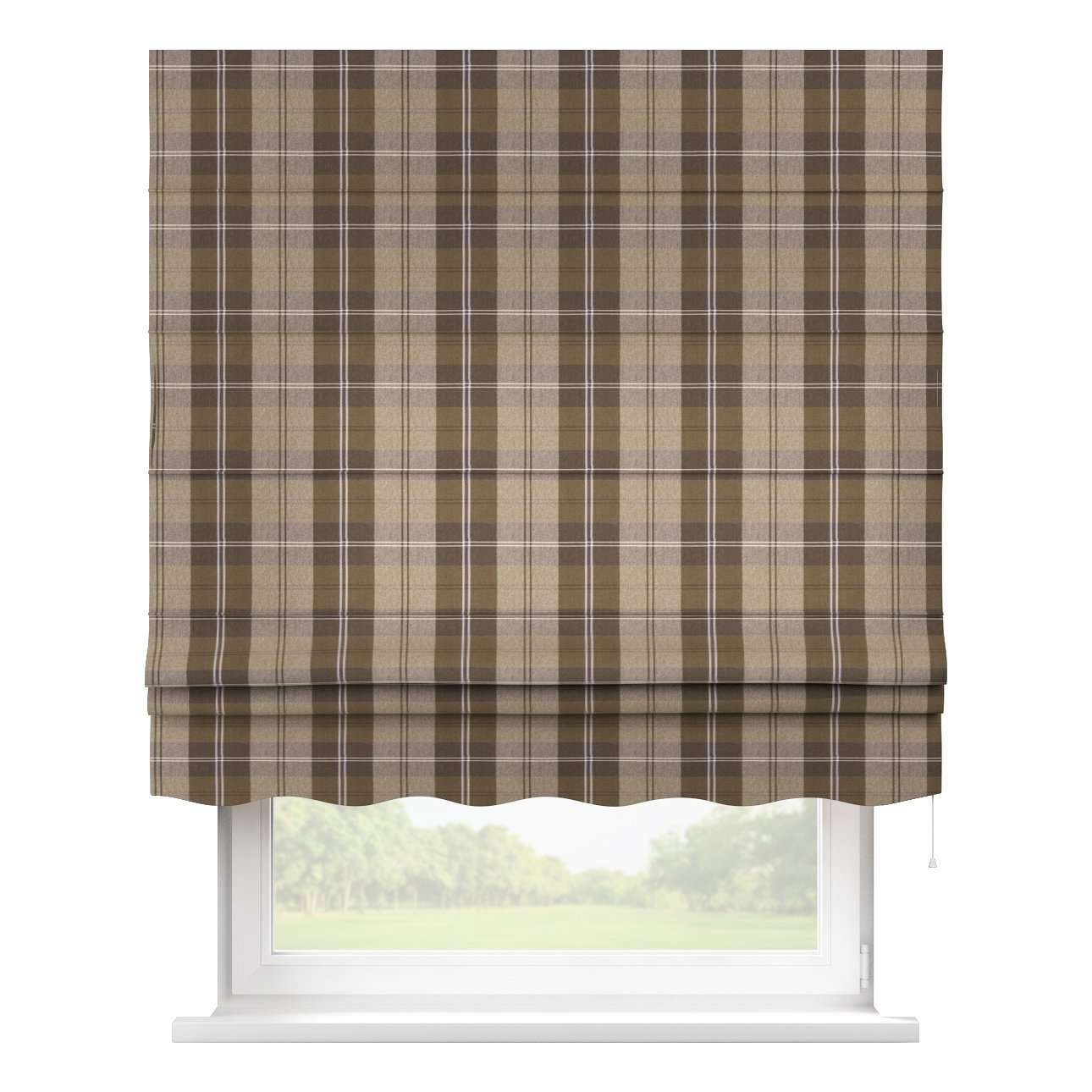 Florence roman blind  80 × 170 cm (31.5 × 67 inch) in collection Edinburgh, fabric: 115-76