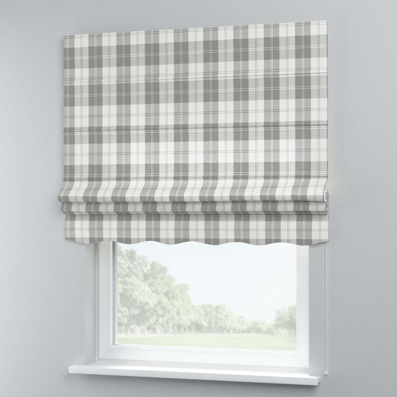 Florence roman blind  80 x 170 cm (31.5 x 67 inch) in collection Edinburgh, fabric: 115-79