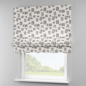 Florence roman blind  80 x 170 cm (31.5 x 67 inch) in collection Nordic, fabric: 630-10