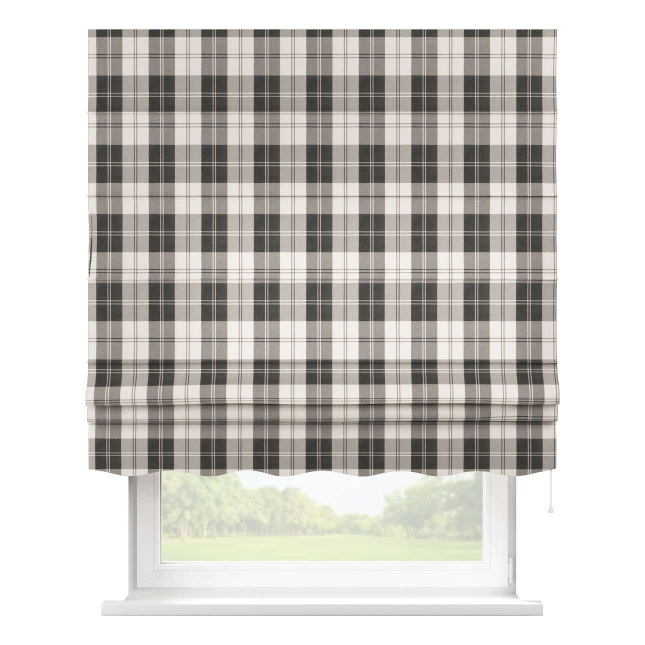 Florence roman blind  80 x 170 cm (31.5 x 67 inch) in collection Edinburgh, fabric: 115-74