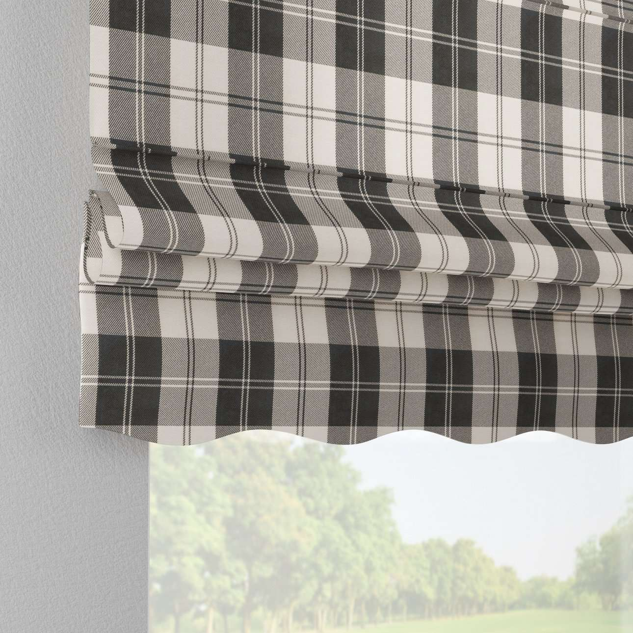 Florence roman blind  in collection Edinburgh, fabric: 115-74