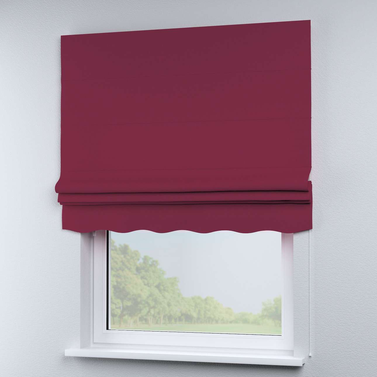 Florence roman blind  in collection Panama Cotton, fabric: 702-32