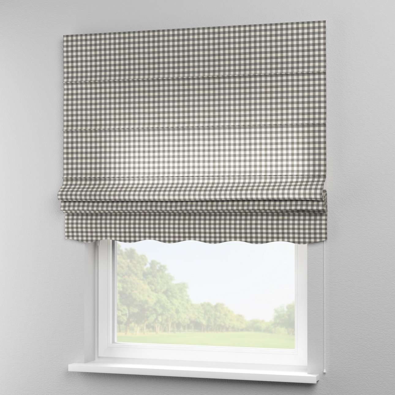 Florence roman blind  80 x 170 cm (31.5 x 67 inch) in collection Quadro, fabric: 136-11