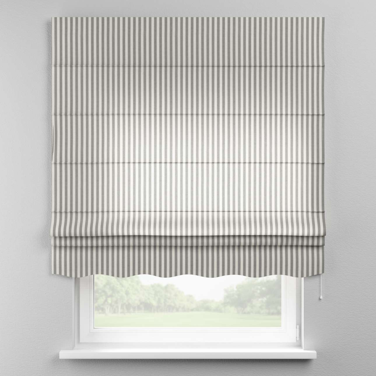 Florence roman blind  80 x 170 cm (31.5 x 67 inch) in collection Quadro, fabric: 136-12