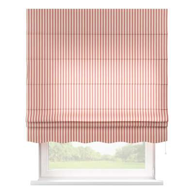 Florence roman blind 136-17 red and white stripes (1.5cm) Collection Quadro